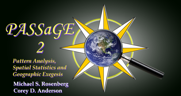 PASSaGE 2: Pattern Analysis, Spatial Statistics, and Geographic Exegesis